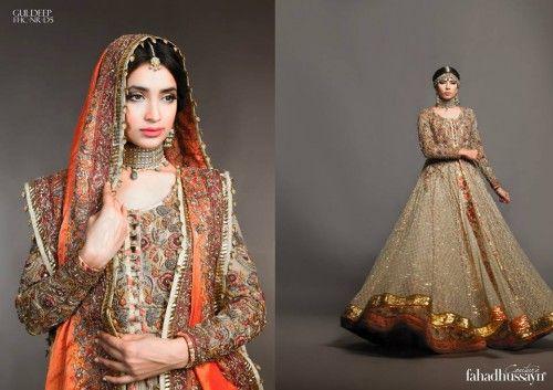 Fahad Hussayn Couture Chronicle Nautanki Rani Couture 2015 Collection (8)