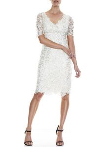 Sienna Sequin Lace Dress I #dress #wedding #MOB @montiqueclothing