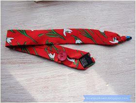 How to refashion tie ? ideas