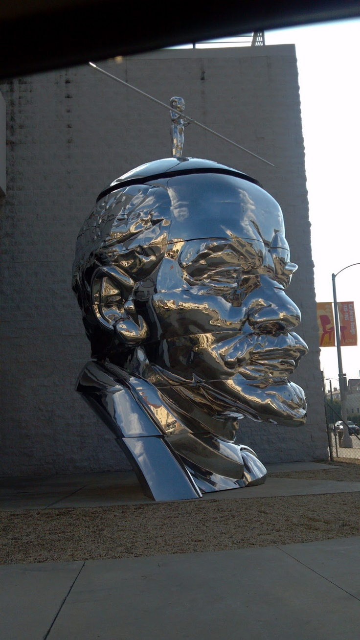metal statues with crome - Google Search