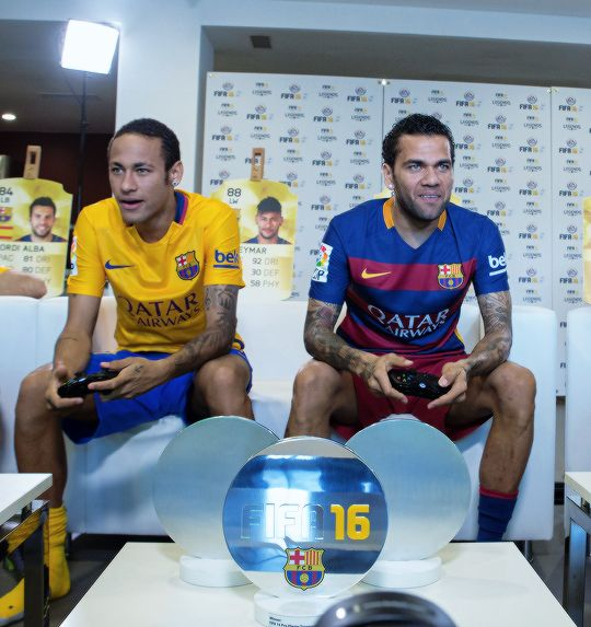 Brazuka Ballin Simon Dominic Barcelonaesmuchomas FIFA 16