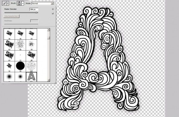 Recreating The Alphabet Photoshop Brushes In 4 Easy Steps