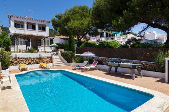 Villa PuntaRosa, Punta Prima, Menorca, Spain. Find more at www.villaplus.com