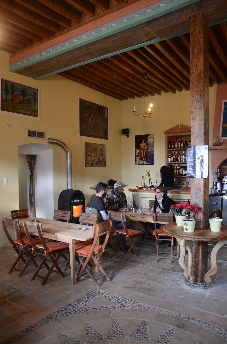 Greek traditional coffee house  KOS ISLAND