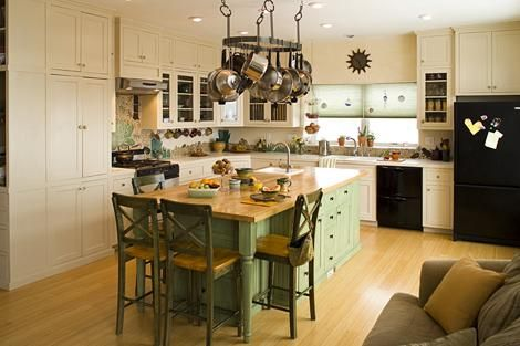 Sunny Kitchen In A Straw House From Our Friends At Country Woman.