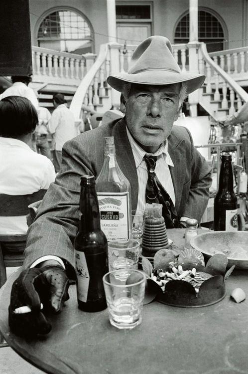 Lee Marvin on the set of 'Pocket Money', Tucson, Arizona, 1971
