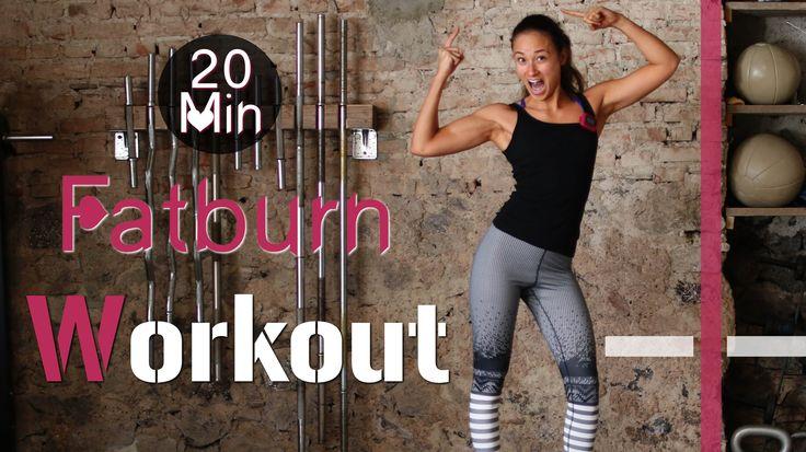 20 Min Hardcore Indoor Fatburn Workout #2 - HIIT - Fettverbrennung und M...