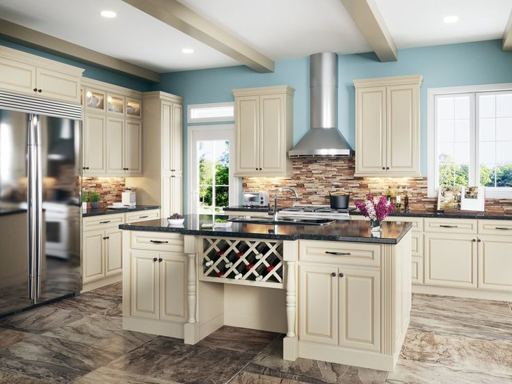 New Cream White Kitchen Cabinets - Buy Cabinet Direct - Yelp