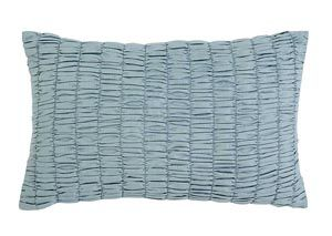 Stitched Navy Pillow