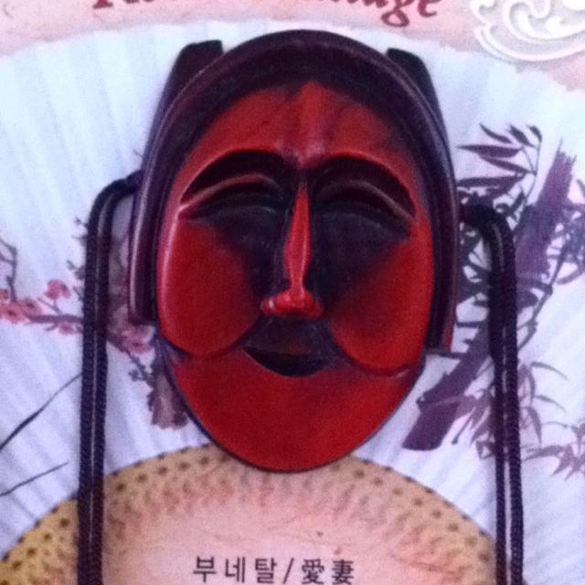 Korean Traditional Mask - Bune Tal: Korean Traditional, Bune Tal, Totem Poles Masks, Asian Decor