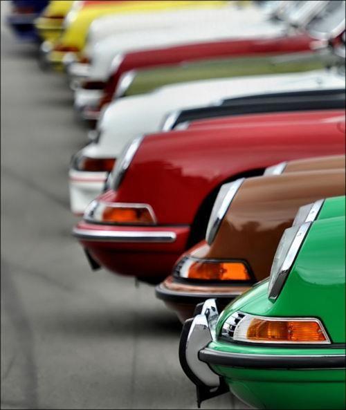 United colors of Porsche