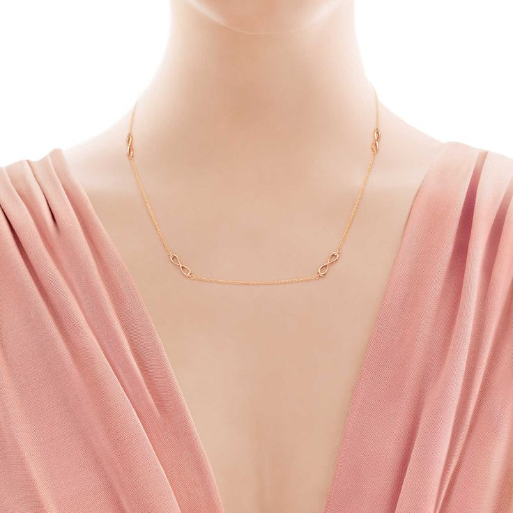 Tiffany Infinity: collar Endless_model-shot-1