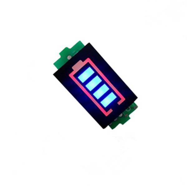 5X 7.4V 2S Li-po Battery Indicator Display Board Power Storage Monitor