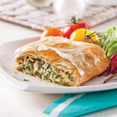 Feuilletés au poulet - Soupers de semaine - Recettes 5-15 - Recettes express 5/15 - Pratico Pratique