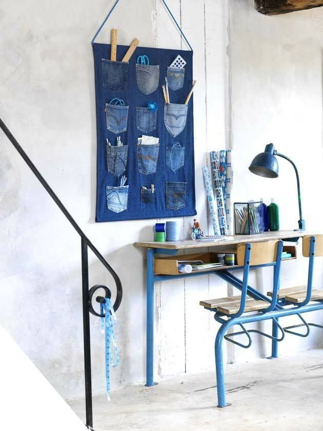 Denim(blauw) in je interieur