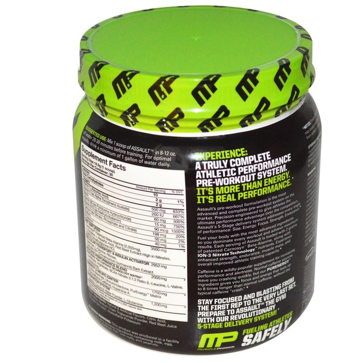 Muscle Pharm, Assault, Pre-Workout System, Raspberry Lemonade, 0.96 lbs (435 g)   http://iherb.com/Muscle-Pharm-Assault-Pre-Workout-System-Raspberry-Lemonade-0-96-lbs-435-g/52609/?p=1  #diet and exercise for weight loss