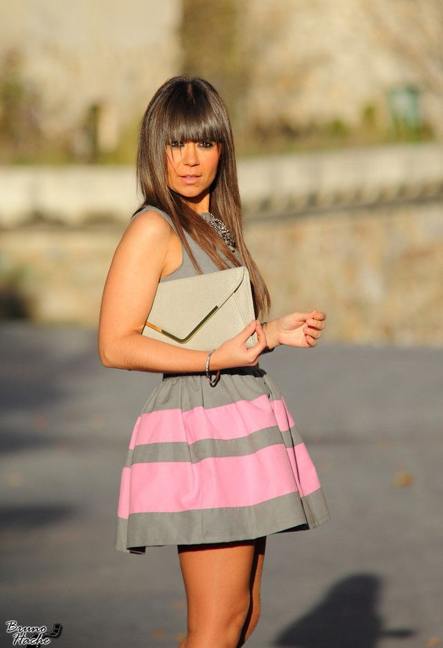 <3 Super Cute! Pink & Grey! <3 Stylish Combinations – Spring 2014 Fashion Trends