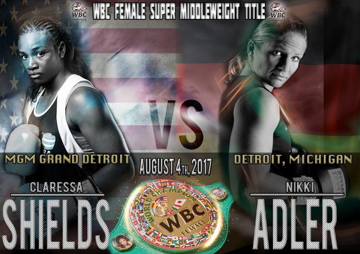 Claressa Shields set to challenge undefeated WBC world champion Nikki Adler