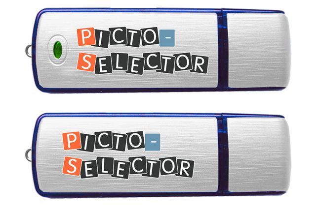 Picto Selector is een gratis programma voor ouders van kinderen met autisme. Met het programma kunnen dagritmekaarten gemaakt worden, en picto's gedownload.