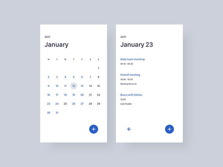 Calendar by Thomas Engebrand
