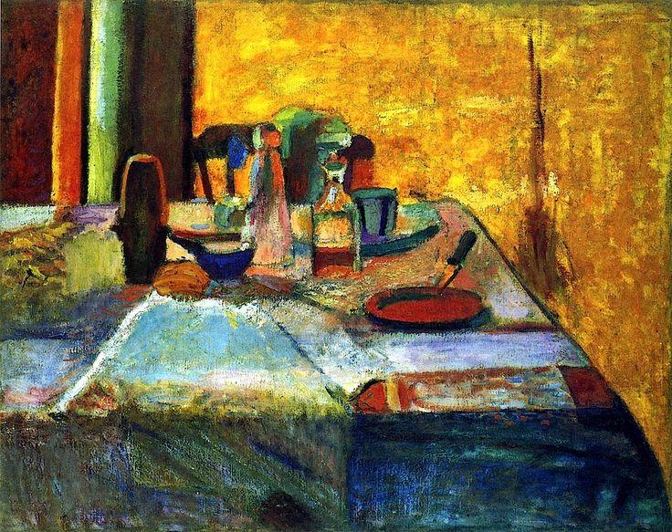 Still Life against the Light / Henri Matisse - 1899