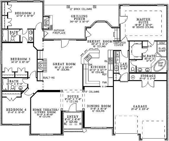 28 best planos de casas images on pinterest contemporary for Representacion de planos arquitectonicos