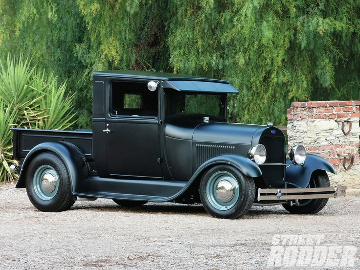1929 Ford Model A Pickup Right Side Photo 14