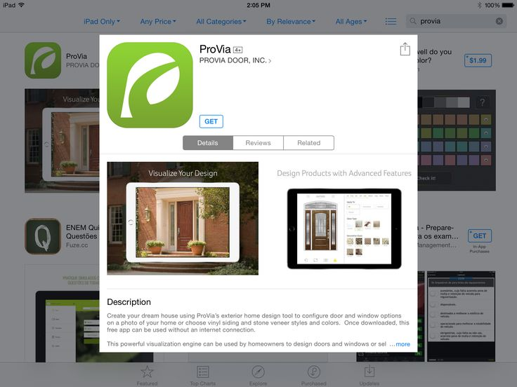 provias home exterior design ipad app is free and easy to use to view