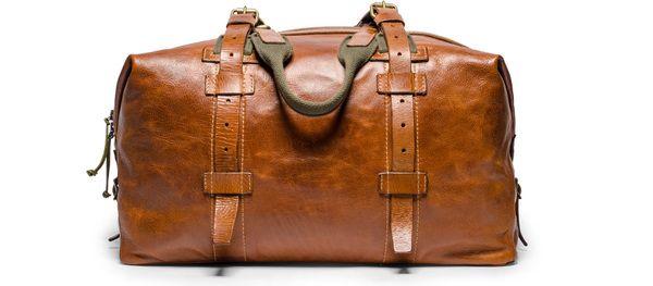 Soft Leather Weekender Bag #welllived