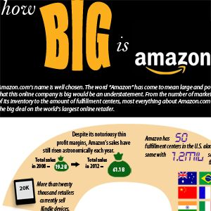 How Big is Amazon, Really?
