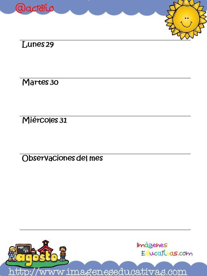 19 best agenda images on Pinterest Spanish, Calendar and Drop - agenda