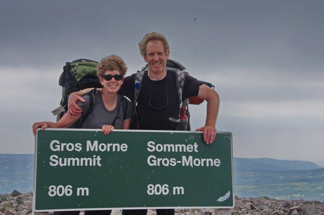"""""""The rocky summit of Gros Morne Mountain"""""""
