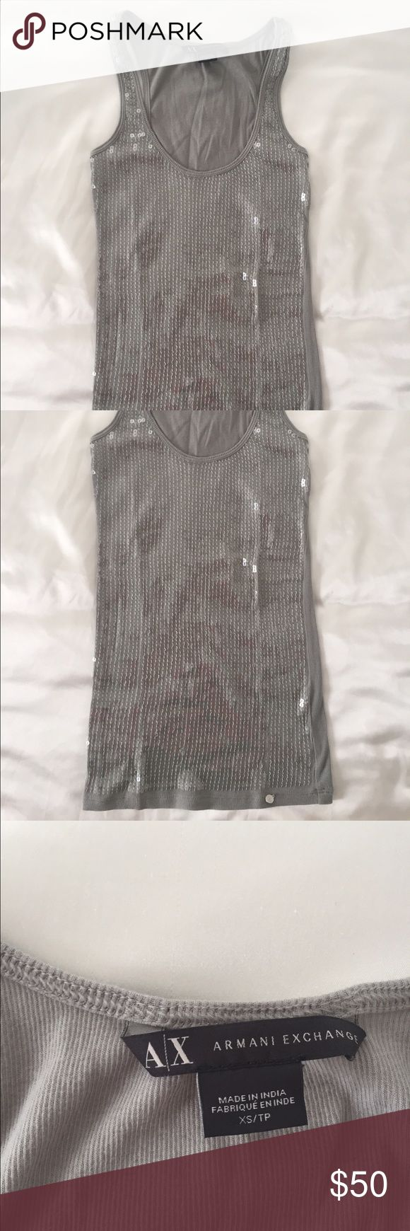 New Armani Exchange Top Slim fit Armani Exchange Tops Tank Tops