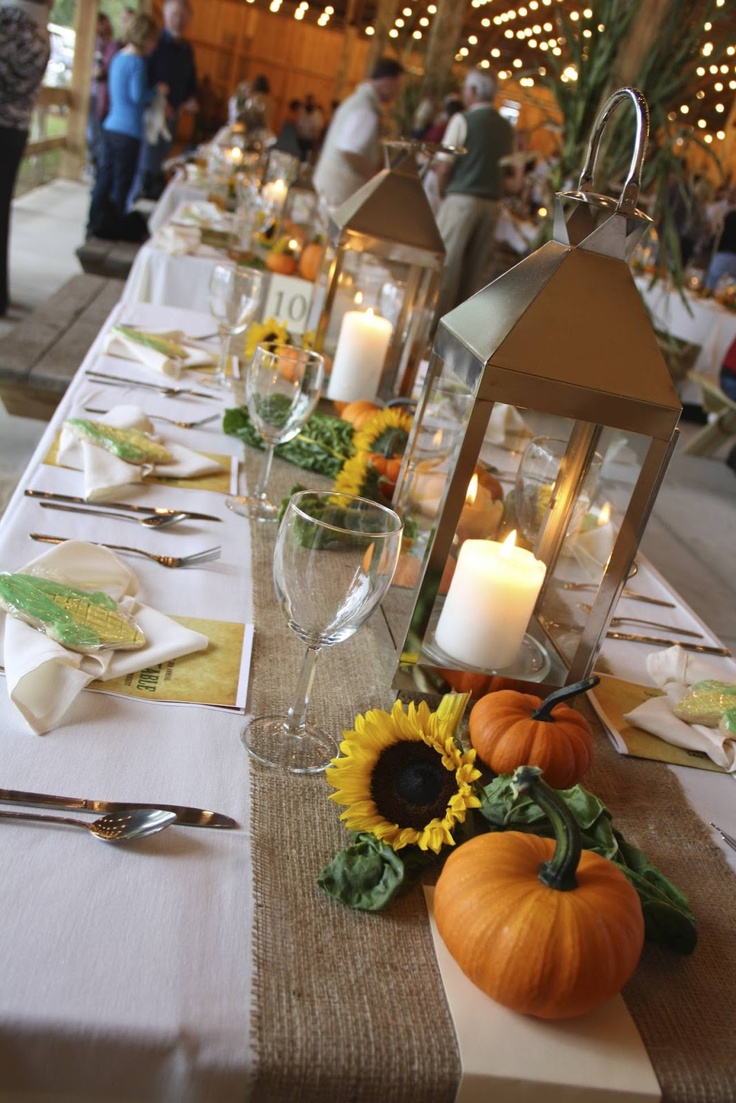 17 best images about farm to table on pinterest dinner for Dinner decoration