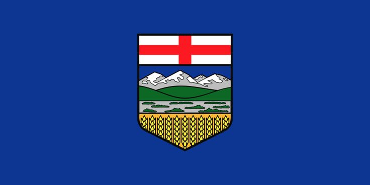 Flag of Alberta - Capital - Edmonton
