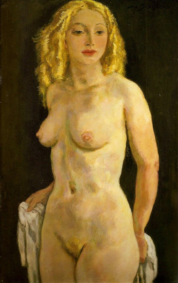 Jan Sluijters (Dutch, 1881-1957), Eva, 1939