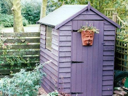 Best Colourful Sheds Images On Pinterest Garden Sheds