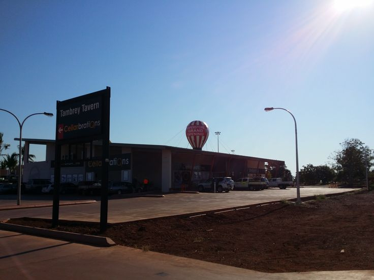 Recent hire, all the way up Karratha. Balloon looks great on their new Superstore!