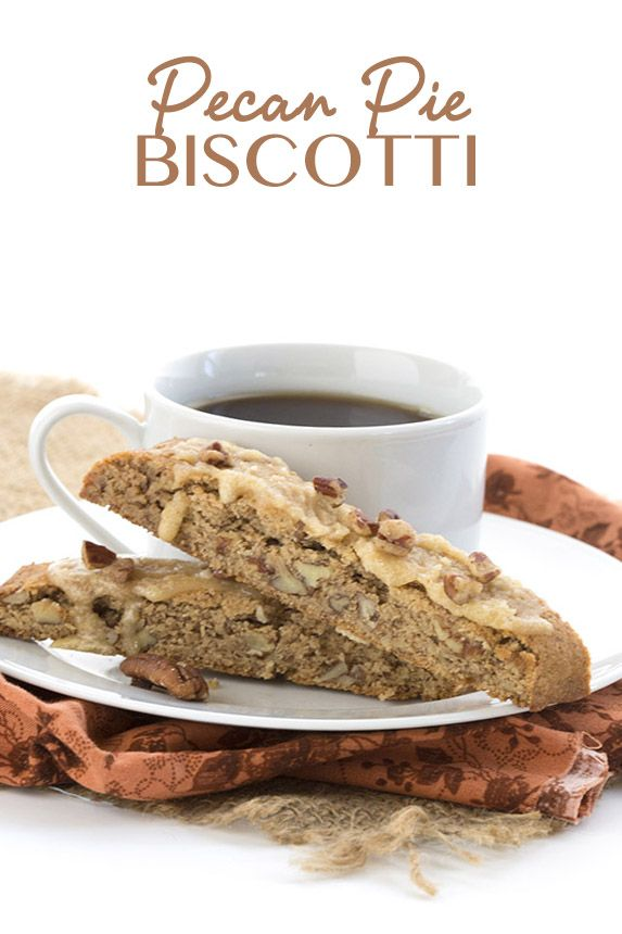 Low Carb Grain-Free Pecan Pie Biscotti. Keto THM Banting Recipe.