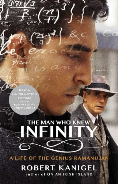 NOW A MAJOR MOTION PICTURE STARRING JEREMY IRONS AND DEV PATEL!  In 1913, a young unschooled Indian clerk wrote a letter to G H Hardy, begging the preeminent English mathematician's opinion on several ideas he had about numbers. Realizing the letter was the work of a genius, Hardy arranged for Srinivasa Ramanujan to come to England. Thus began one of the most improbable and productive collaborations ever chronicled. With a passion for rich and evocative detail, Robert Kanigel takes us from…
