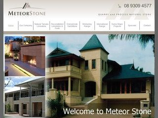 Meteor Stone is a premier supplier of natural stone including limestone blocks, Kimberley sandstone and more.