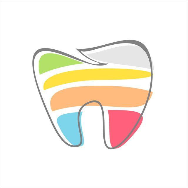 الأسنان الأسنان مجردة تصميم شعار Logo Design Dental Teeth Logo