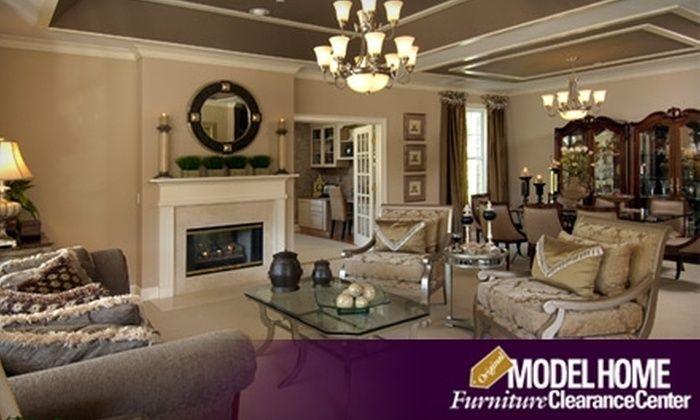 Home Furnishings At Home Furniture Store Model Home Furnishings