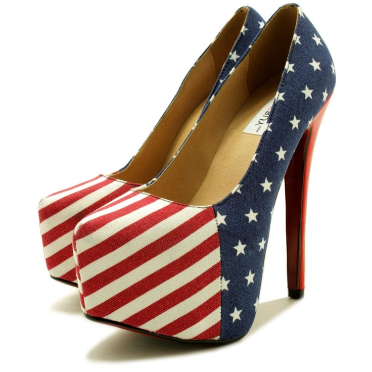 I need these.: American Flags, American Pride, American Hotti, Court Shoes, Americana Stilettos, Things Patriots, Flags Colour, Shoes American, Platform Court
