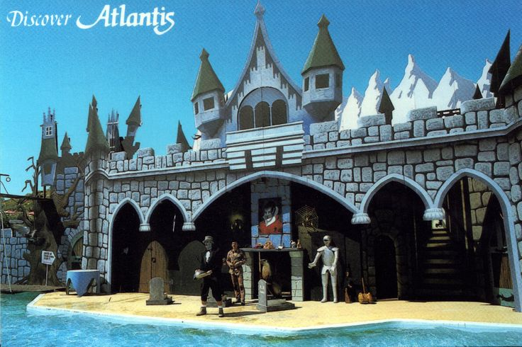 Atlantis Postcard #1