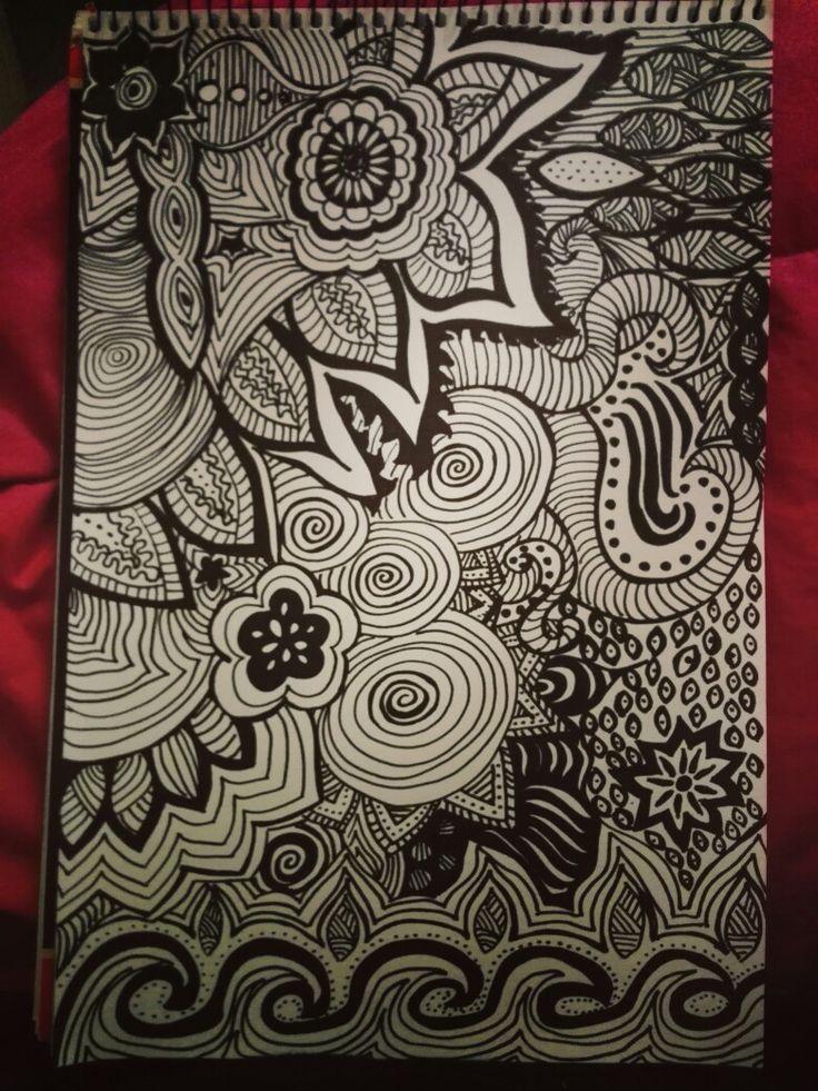 Mi primer dibujo con Marcador