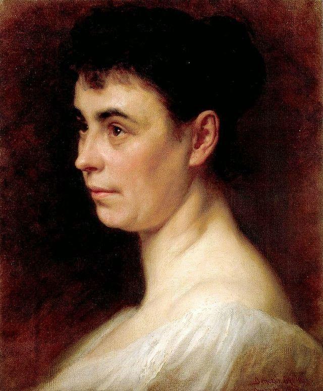 Η δεύτερη σύζυγος του καλλιτέχνη (1893)