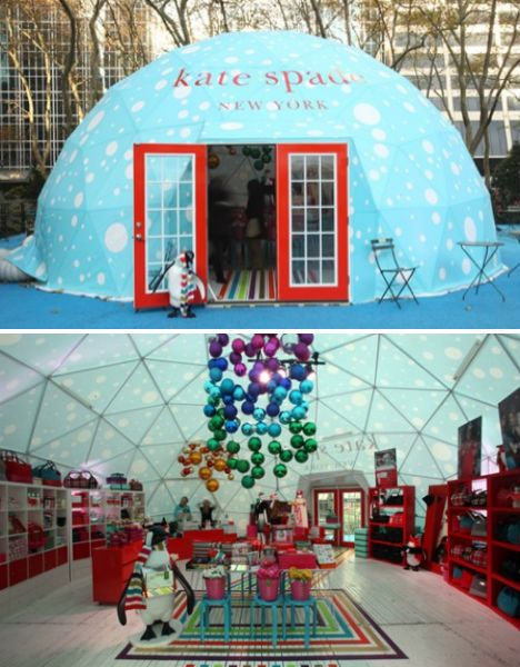 Pop-Up Shop TENT!! Awesome. Kate Spade, NY  Anyone want to go into business!