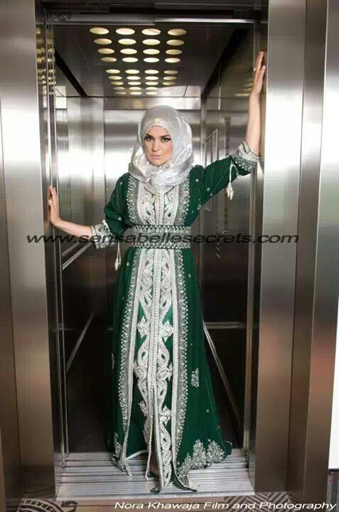 Caftan hijab