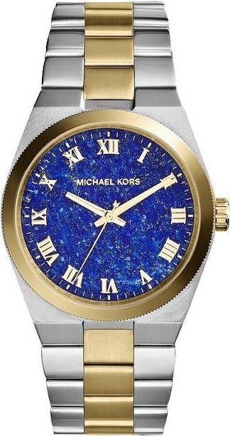 46f521e58c2a Montre Femme Michael Kors Channing MK5893 à cadran bleu
